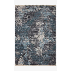 Samra Dove and Sky Rectangular: 7 Ft. 10 In. x 10 Ft. Area Rug