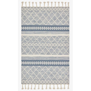 Sawyer Teal Rectangular: 3 Ft. 6 In. x 5 Ft. 6 In. Area Rug