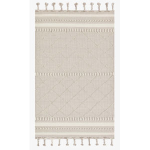 Sawyer Silver Rectangular: 3 Ft. 6 In. x 5 Ft. 6 In. Area Rug