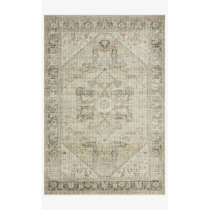 Skye Natural and Sand Rectangular: 2 Ft. 6 In. x 7 Ft. 6 In. Area Rug