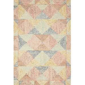 Spectrum Ivory Multicolor Rectangular: 7 Ft. 9 In. x 9 Ft. 9 In. Rug