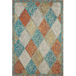 Spectrum Sunset Ocean Rectangular: 8 Ft. 6 In. x 12 Ft. Rug