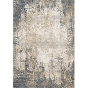 Teagan Ivory and Mist 1 Ft. 6 In. x 1 Ft. 6 In. Square Rug