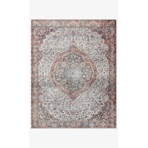 Wynter Red and Multicolor Rectangular: 8 Ft. 6 In. x 11 Ft. 6 In. Area Rug