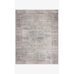 Wynter Silver and Charcoal Rectangular: 2 Ft. x 5 Ft. Area Rug