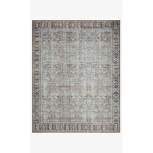 Wynter Gray and Charcoal Rectangular: 2 Ft. 6 In. x 9 Ft. 6 In. Area Rug