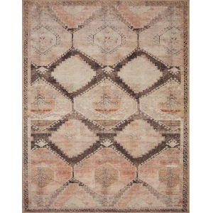 Wynter Graphite Blush Rectangular: 2 Ft. 6 In. x 9 Ft. 6 In. Rug