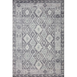 Zion Charcoal Slate Rectangular: 7 Ft. 6 In. x 9 Ft. 6 In. Rug