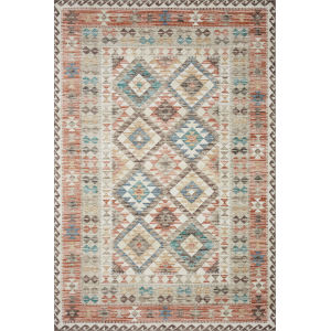 Zion Ivory Multicolor Rectangular: 7 Ft. 6 In. x 9 Ft. 6 In. Rug