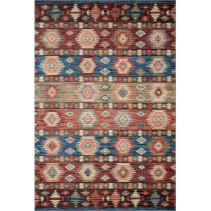 Zion Fiesta Multicolor Rectangular: 7 Ft. 6 In. x 9 Ft. 6 In. Rug
