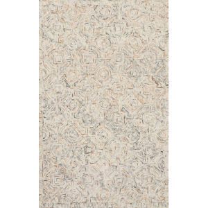 Ziva Multicolor 2 Ft. 6 In. x 7 Ft. 6 In. Hand Tufted Rug