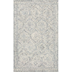 Ziva Bluestone 7 Ft. 9 In. x 9 Ft. 9 In. Hand Tufted Rug