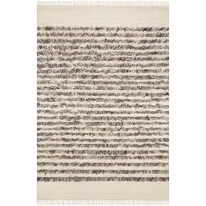 Crafted by Loloi Abbot Natural Ash Rectangle: 7 Ft. 9 In. x 9 Ft. 9 In. Rug