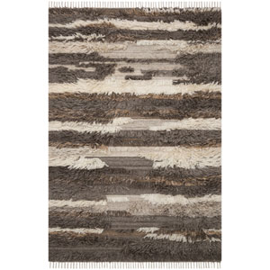 Crafted by Loloi Abbot Natural Multicolor Rectangle: 7 Ft. 9 In. x 9 Ft. 9 In. Rug