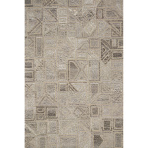 Crafted by Loloi Artesia Natural Rectangle: 3 Ft. 6 In. x 5 Ft. 6 In. Rug