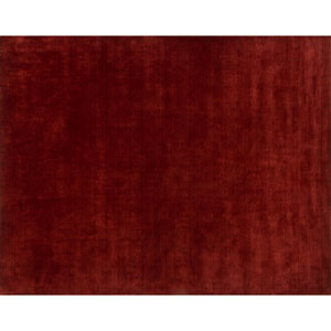 Crafted by Loloi Gramercy Crimson Rectangle: 5 Ft. 6 In. x 8 Ft. 6 In. Rug