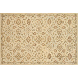 Crafted by Loloi Hawthorne Beige Round: 7 Ft. 9 In. x 7 Ft. 9 In. Rug
