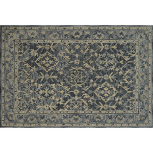 Crafted by Loloi Hawthorne Denim Rectangle: 7 Ft. 9 In. x 9 Ft. 9 In. Rug