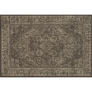 Crafted by Loloi Huntington Taupe Multicolor Rectangle: 2 Ft. 3 In. x 3 Ft. 9 In. Rug