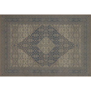 Crafted by Loloi Huntington Natural Slate Rectangle: 7 Ft. 10 In. x 10 Ft. 10 In. Rug