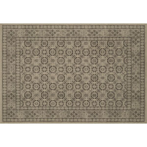 Crafted by Loloi Huntington Ivory Natural Rectangle: 5 Ft. 3 In. x 7 Ft. 6 In. Rug