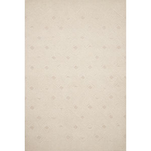 Crafted by Loloi Kopa Ivory Rectangle: 3 Ft. 6 In. x 5 Ft. 6 In. Rug