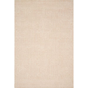 Crafted by Loloi Kopa Blush Ivory Rectangle: 7 Ft. 9 In. x 9 Ft. 9 In. Rug