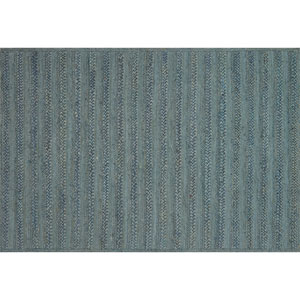 Crafted by Loloi Ludlow Blue Rectangle: 7 Ft. 9 In. x 9 Ft. 9 In. Rug