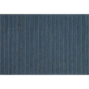 Crafted by Loloi Ludlow Indigo Rectangle: 7 Ft. 9 In. x 9 Ft. 9 In. Rug