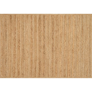 Crafted by Loloi Ludlow Natural Rectangle: 2 Ft. 3 In. x 3 Ft. 9 In. Rug
