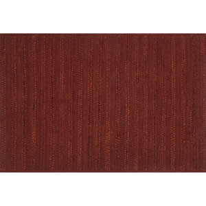 Crafted by Loloi Ludlow Rust Rectangle: 7 Ft. 9 In. x 9 Ft. 9 In. Rug