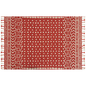 Crafted by Loloi Napa Tangerine Rectangle: 9 Ft. 3 In. x 13 Ft. Rug