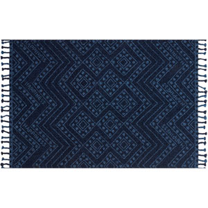 Crafted by Loloi Napa Indigo Rectangle: 9 Ft. 3 In. x 13 Ft. Rug