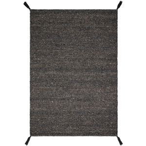 Crafted by Loloi Oakdell Charcoal Rectangle: 7 Ft. 9 In. x 9 Ft. 9 In. Rug