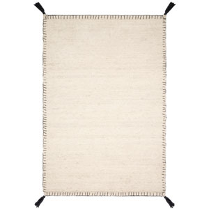 Crafted by Loloi Oakdell White Rectangle: 2 Ft. 3 In. x 3 Ft. 9 In. Rug