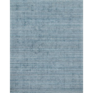 Crafted by Loloi Pasadena Aqua Rectangle: 5 Ft. 6 In. x 8 Ft. 6 In. Rug