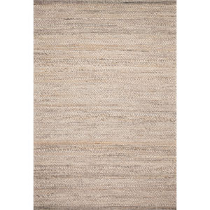 Crafted by Loloi Pomona Natural Rectangle: 7 Ft. 9 In. x 9 Ft. 9 In. Rug