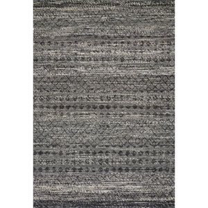 Crafted by Loloi Pomona Graphite Rectangle: 3 Ft. 6 In. x 5 Ft. 6 In. Rug