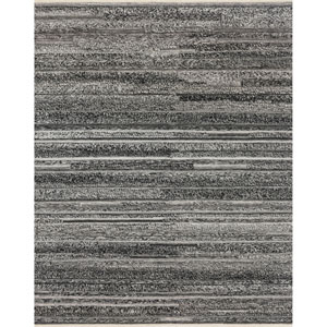 Crafted by Loloi Rodeo Charcoal Rectangle: 5 Ft. 6 In. x 8 Ft. 6 In. Rug