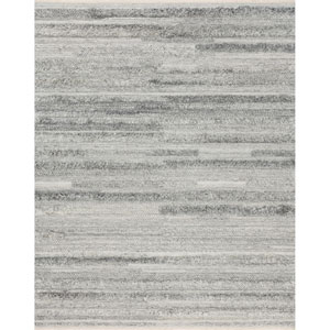 Crafted by Loloi Rodeo Silver Rectangle: 7 Ft. 9 In. x 9 Ft. 9 In. Rug
