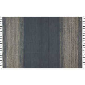 Crafted by Loloi Solano Blue Rectangle: 7 Ft. 9 In. x 9 Ft. 9 In. Rug