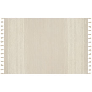 Crafted by Loloi Solano Ivory Rectangle: 3 Ft. 6 In. x 5 Ft. 6 In. Rug