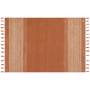 Crafted by Loloi Solano Rust Rectangle: 3 Ft. 6 In. x 5 Ft. 6 In. Rug