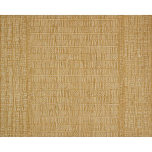 Crafted by Loloi Tribu Gold Ivory Rectangle: 3 Ft. 6 In. x 5 Ft. 6 In. Rug