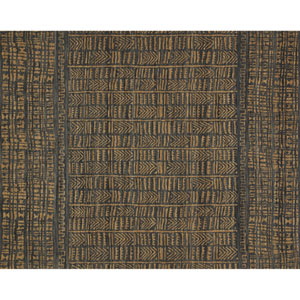 Crafted by Loloi Tribu Ink Camel Runner: 2 Ft. 6 In. x 9 Ft. 9 In.