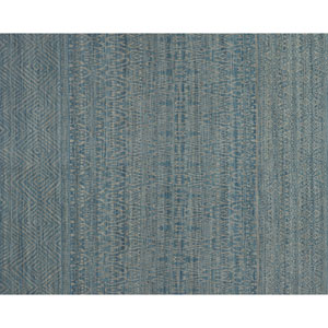 Crafted by Loloi Tribu Blue Grey Rectangle: 5 Ft. x 7 Ft. 6 In. Rug