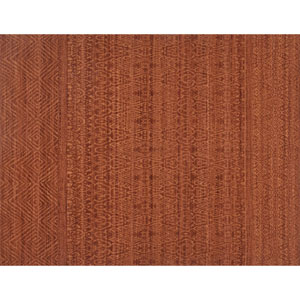 Crafted by Loloi Tribu Rust Rectangle: 3 Ft. 6 In. x 5 Ft. 6 In. Rug