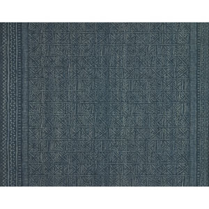 Crafted by Loloi Tribu Indigo Rectangle: 5 Ft. x 7 Ft. 6 In. Rug