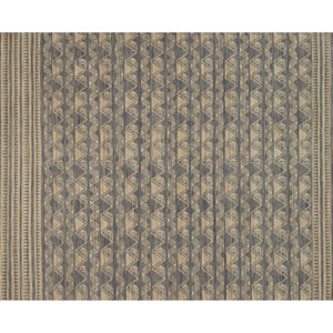 Crafted by Loloi Tribu Charcoal Natural Rectangle: 5 Ft. x 7 Ft. 6 In. Rug