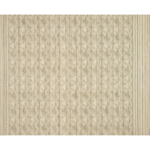 Crafted by Loloi Tribu Sage Runner: 2 Ft. 6 In. x 9 Ft. 9 In.